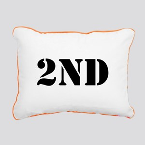 """2nd Amendment"" Rectangular Canvas Pillow"