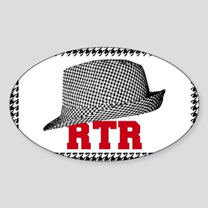 RTR hat Sticker
