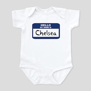 Hello: Chelsea Infant Bodysuit