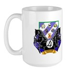 4th BDE Vanguard Large Mug