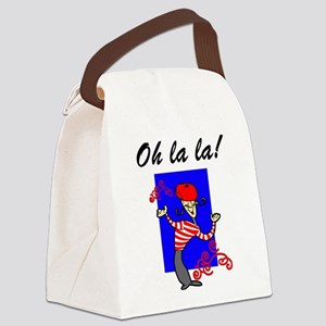 Oh La La French Canvas Lunch Bag