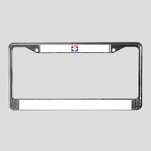 My Identity Saba License Plate Frame