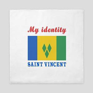 My Identity Saint Vincent Queen Duvet