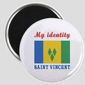 My Identity Saint Vincent Magnet