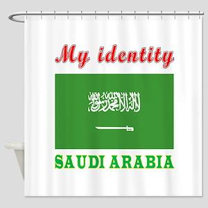 My Identity Saudi Arabia Shower Curtain
