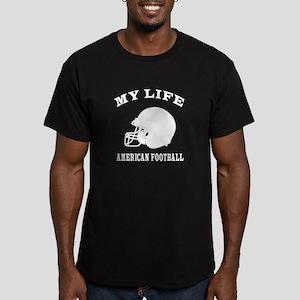 My Life American Football Men's Fitted T-Shirt (da