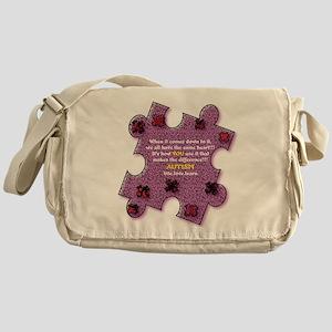 Autism Have A Heart Messenger Bag