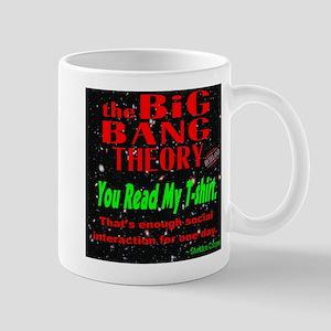 You Read My T-shirt Mug