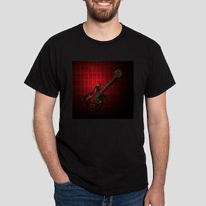 KuuMa Guitar 08 (R) Dark T-Shirt