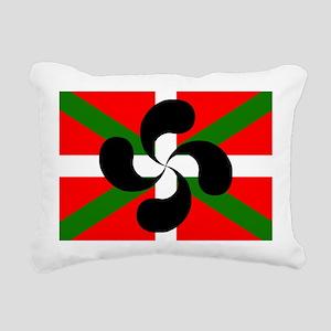 Ikurrina Lauburu Rectangular Canvas Pillow