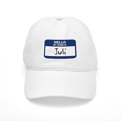 Hello: Juli Cap