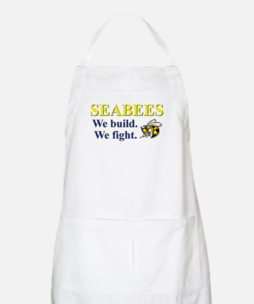 SEABEES WE BUILD WE FIGHT Apron