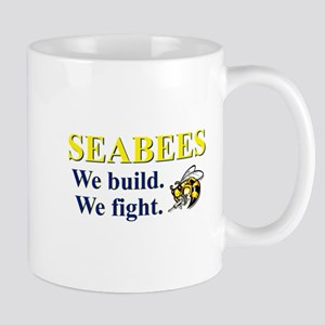 SEABEES WE BUILD WE FIGHT Mug