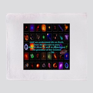 Wisdom of the Cosmos Throw Blanket