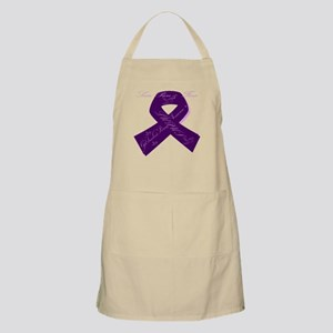 Purple Lupus Ribbon Apron