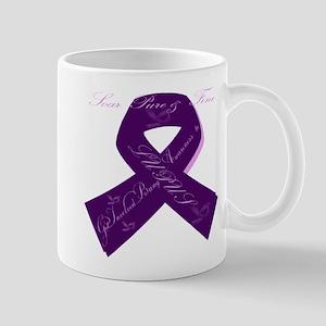 Purple Lupus Ribbon Mug