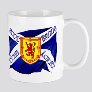Scotland the brave flag Small Mug