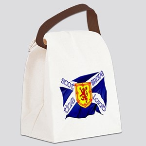 Scotland the brave flag Canvas Lunch Bag
