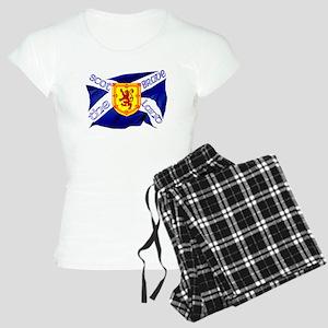 Scotland the brave flag pajamas