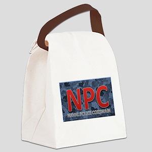 NPC NAVAL Canvas Lunch Bag