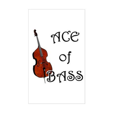 Ace of Bass Rectangle Sticker