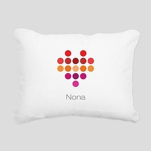I Heart Nona Rectangular Canvas Pillow