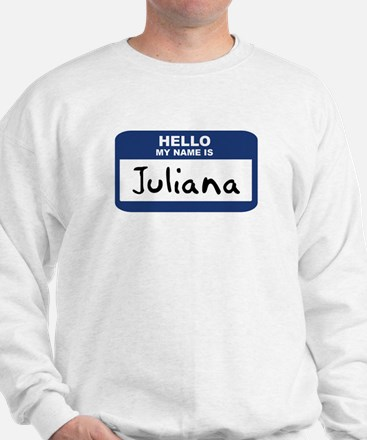 Hello: Juliana Sweater