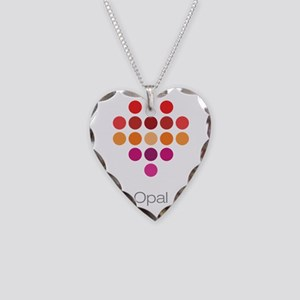 I Heart Opal Necklace