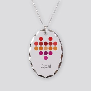 I Heart Opal Necklace
