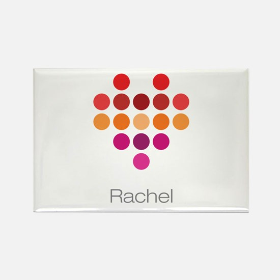 I Heart Rachel Rectangle Magnet (100 pack)