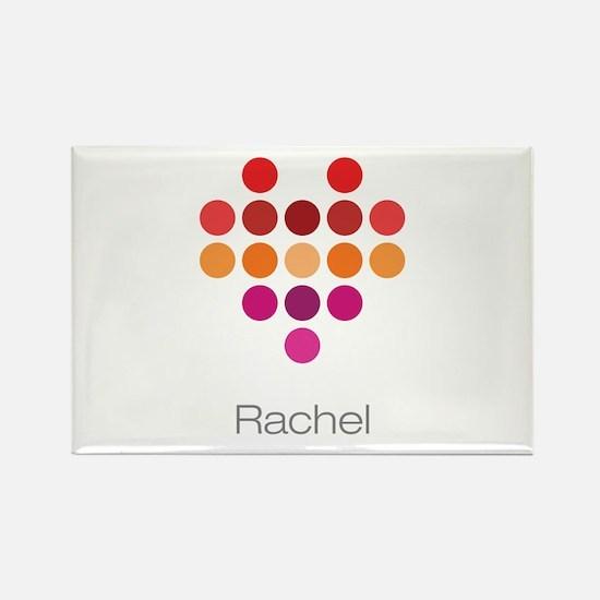 I Heart Rachel Rectangle Magnet
