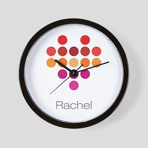 I Heart Rachel Wall Clock