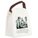Veins Fact Canvas Lunch Bag