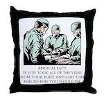Veins Fact Throw Pillow