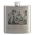 Veins Fact Flask