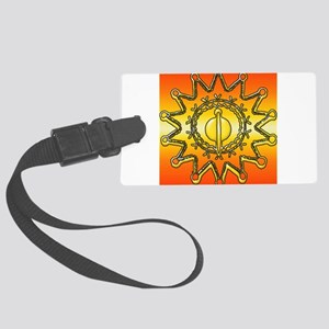Iroquois Sun Luggage Tag