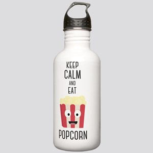 Eat Popocorn Stainless Water Bottle 1.0L