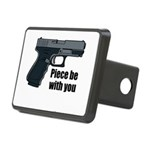 Piece Be With You Hitch Cover