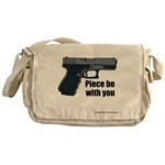 Piece Be With You Messenger Bag
