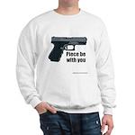 Piece Be With You Sweatshirt