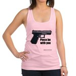 Piece Be With You Racerback Tank Top