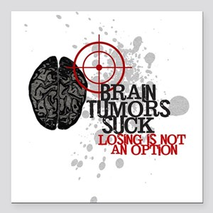 """Losing is Not an Option Square Car Magnet 3"""" x 3"""""""