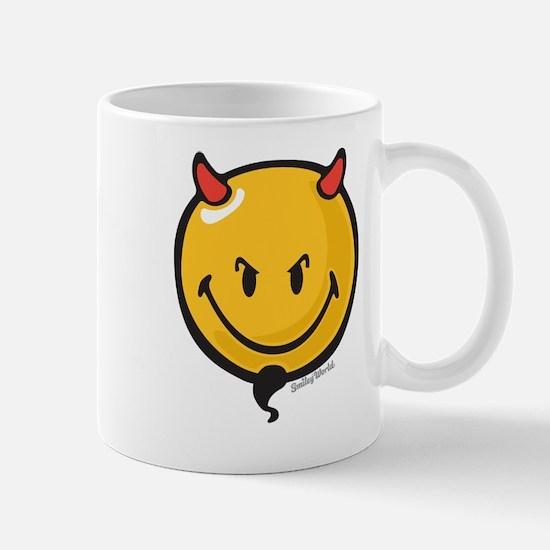 Devilish Smiley Mug