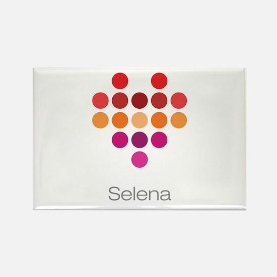 I Heart Selena Rectangle Magnet