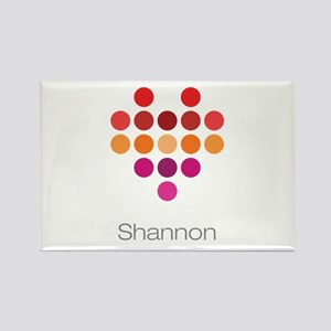 I Heart Shannon Rectangle Magnet