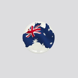 Australia Mini Button