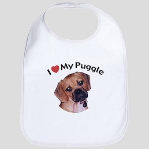 love_puppy Baby Bib