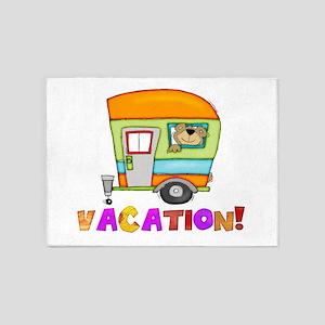 vacation 5'x7'Area Rug