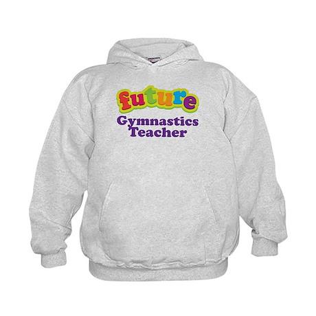 Future Gymnastics Teacher Kids Hoodie