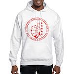 Stuffed Drunk & Merry: Full M Hooded Sweatshirt